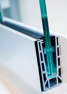 Doorsnee PVC kunststof kozijn